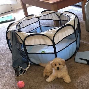 Blue Petmaker Pop Up Playpen